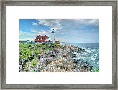 Portland Head Lighthouse #2 Framed Print by Joe Granita