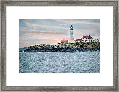 Portland Head Lighthouse Framed Print by Joe Granita