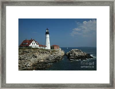 Portland Head Lighthouse Framed Print by Timothy Johnson