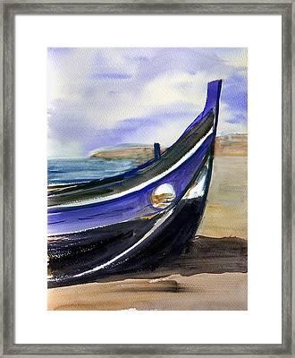 Portoboat Framed Print by Anselmo Albert Torres