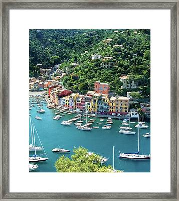 Portofino 3 Framed Print by Al Hurley