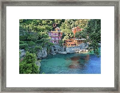 Portofino 4 Framed Print by Al Hurley