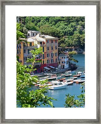 Portofino 5 Framed Print by Al Hurley