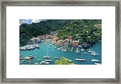 Portofino Framed Print by Al Hurley