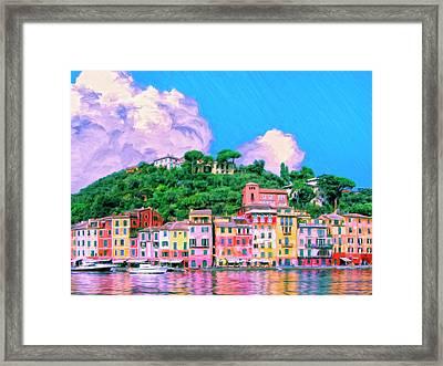Portofino Framed Print by Dominic Piperata