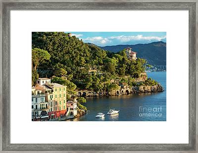 Portofino Morning IIi Framed Print by Brian Jannsen