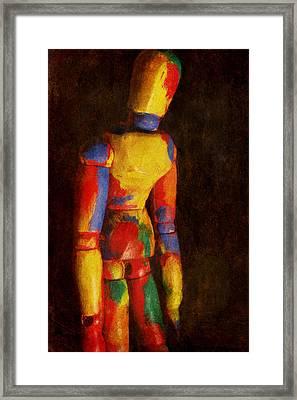 Portrait Of A Dreamer Framed Print by Jeff  Gettis