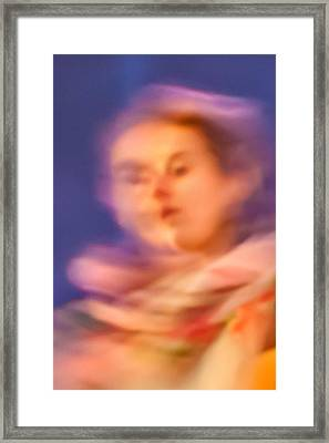 Portrait Of A Lady Framed Print by Az Jackson