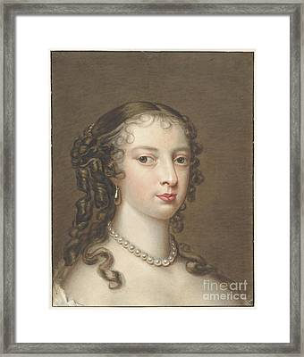 Portrait Of A Woman Framed Print by Celestial Images