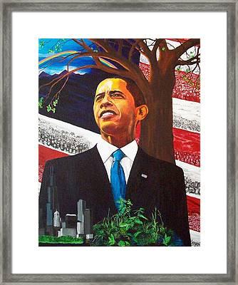 Portrait Of Hope Framed Print by Susan M Woods