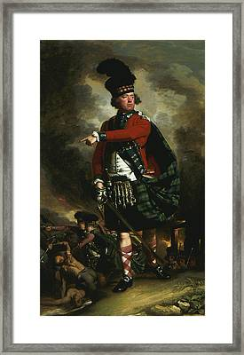 Portrait Of Hugh Montgomerie Framed Print by John Singleton Copley