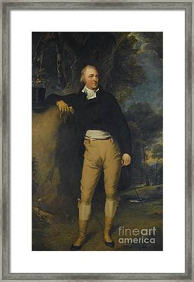 Portrait Of Thomas Lister Framed Print by Sir Thomas Lawrence