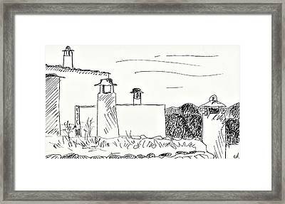 Portugos Framed Print by Chani Demuijlder
