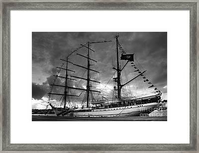 Portuguese Tall Ship Framed Print by Gaspar Avila