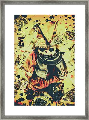 Possessed Vintage Horror Doll  Framed Print by Jorgo Photography - Wall Art Gallery