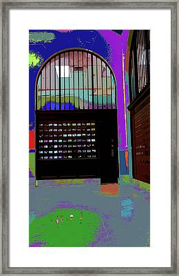 Post Office II Framed Print by Kenneth James