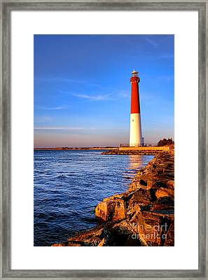 Postcard From Barnegat  Framed Print by Olivier Le Queinec