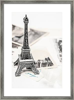 Postcards And Letters From Paris Framed Print by Jorgo Photography - Wall Art Gallery