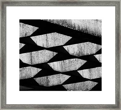 Pot Holes - 2 Of 2 Framed Print by Alan Todd