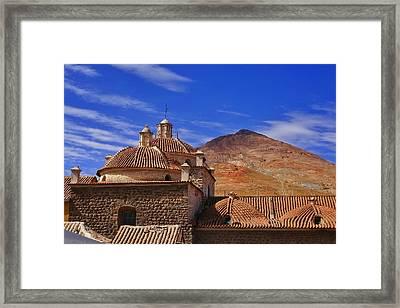 Potosi 6 Framed Print by Skip Hunt