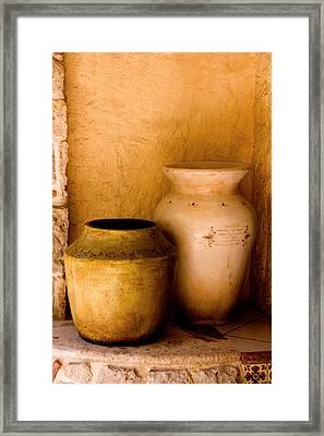Pottary Mexico Framed Print by Xavier Cardell