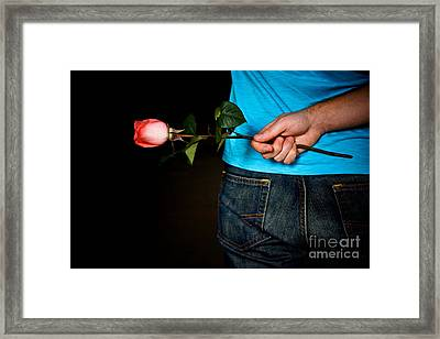 Pour Toi Mon Amour Framed Print by Kirsti H KooHooPhoto
