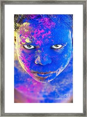 Powder Boy Framed Print by Tim Gainey