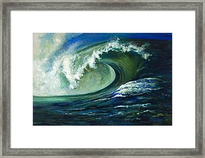 Power Framed Print by Billie Colson