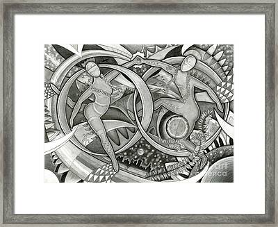 Power Of The Dance - Anniversary Framed Print by Mark Stankiewicz