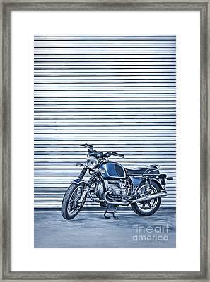Power Ride Framed Print by Evelina Kremsdorf