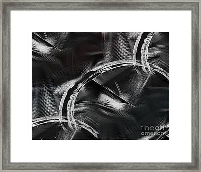 Powers Of Dark Framed Print by Yul Olaivar