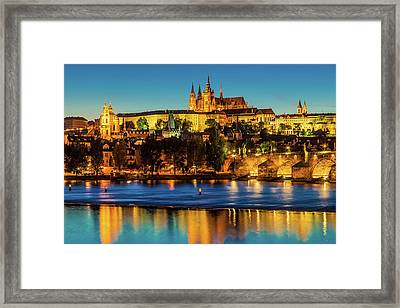 Prague 02 Framed Print by Tom Uhlenberg