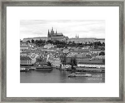 Prague Castle Framed Print by Keiko Richter