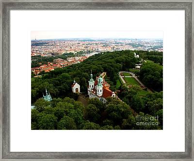 Prague  Framed Print by Randy Matthews
