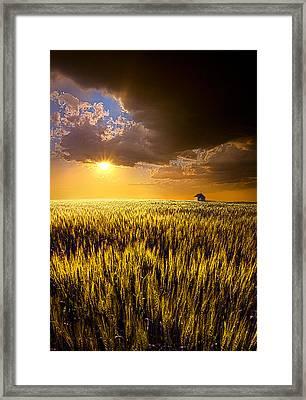 Praire Land Framed Print by Phil Koch