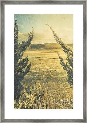 Prairie Hill Framed Print by Jorgo Photography - Wall Art Gallery