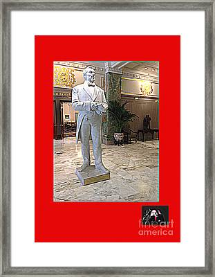 Praise To The Man Joseph Smith Who Communed With Jehovah Framed Print by Richard W Linford
