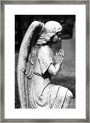 Pray Framed Print by John Rizzuto