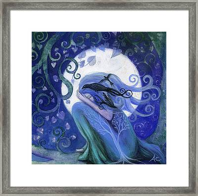 Prayer Framed Print by Amanda Clark