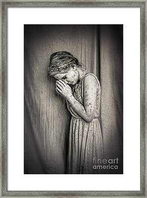 Prayers For The Persecuted Framed Print by Spokenin RED
