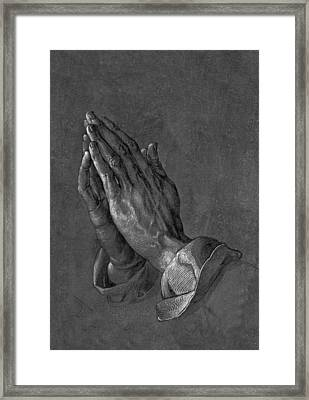Praying Hands 1508 Framed Print by Movie Poster Prints