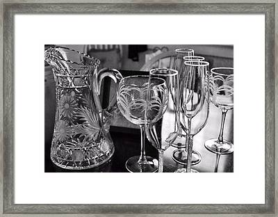 Pre-bubbly Framed Print by JAMART Photography