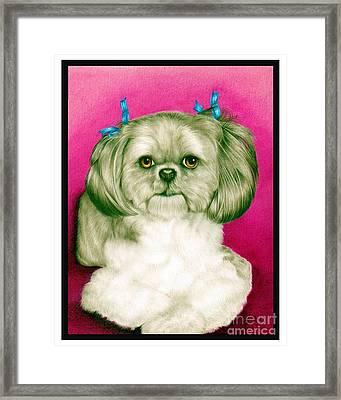 Precious Girl Framed Print by Sheryl Unwin