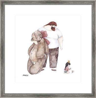Present Framed Print by Soosh