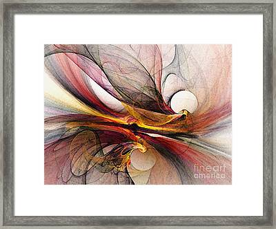 Presentiments Framed Print by Karin Kuhlmann