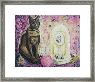 Presents Framed Print by Suzanne  Marie Leclair
