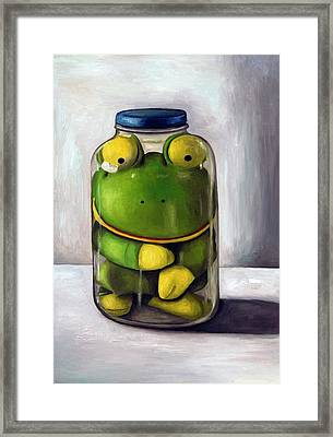 Preserving Childhood Framed Print by Leah Saulnier The Painting Maniac