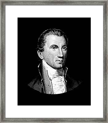 President James Monroe  Framed Print by War Is Hell Store
