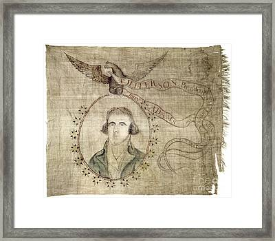 Presidential Campaign: 1800 Framed Print by Granger
