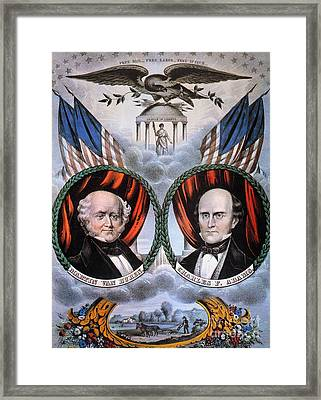Presidential Campaign, 1848 Framed Print by Granger